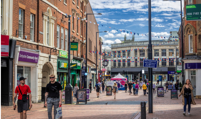 Derby city centre