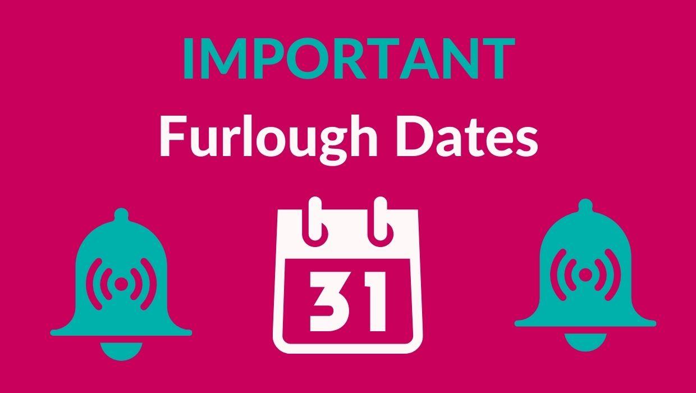 Furlough dates
